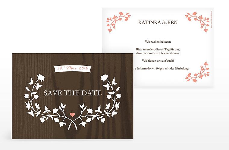 New Wedding invitation at Die Kartenmacherei