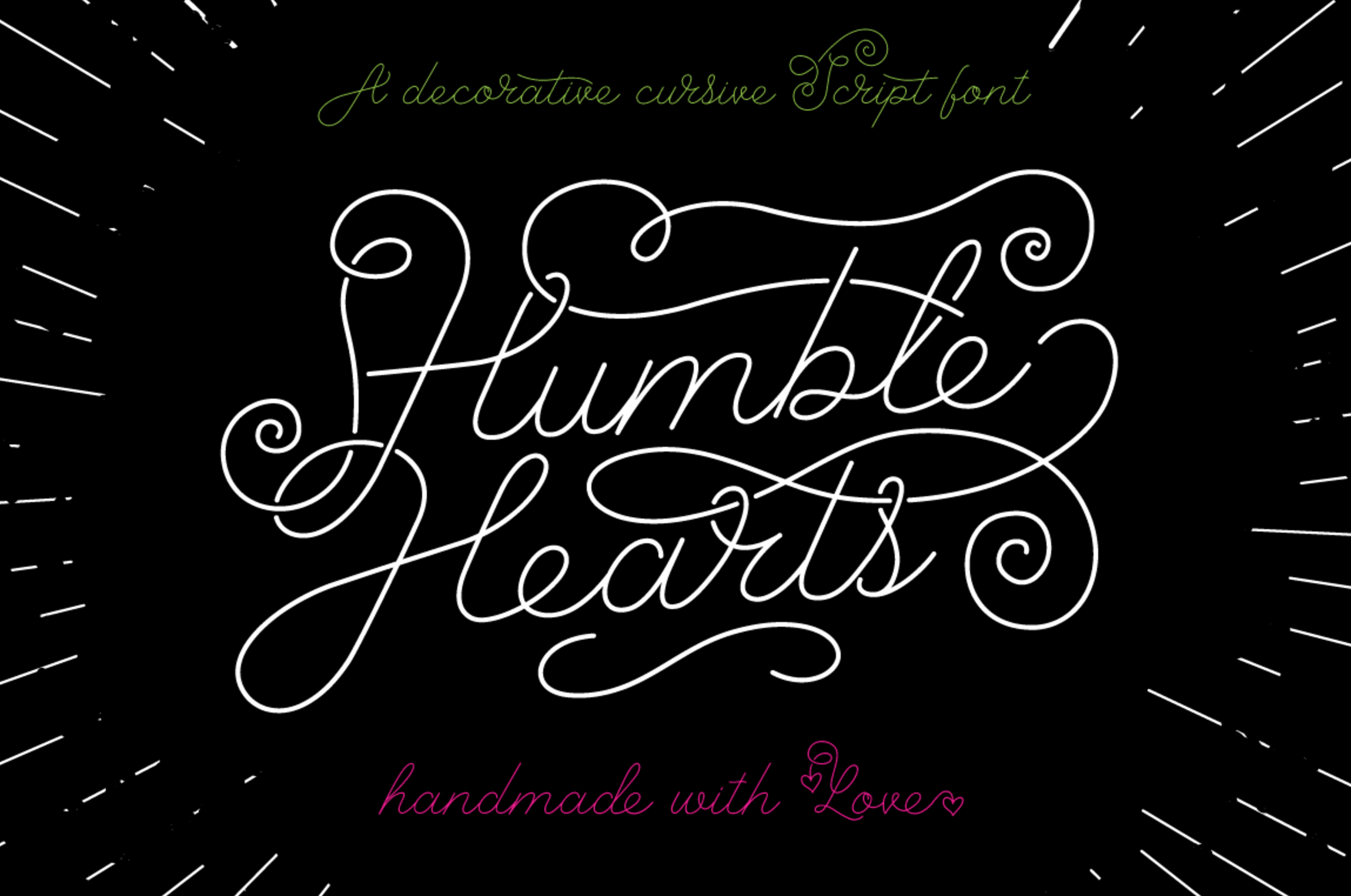 Font Friday: Humble Hearts by Joanne Marie