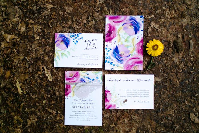 Hochzeitsinspiration: Boho Purple Love