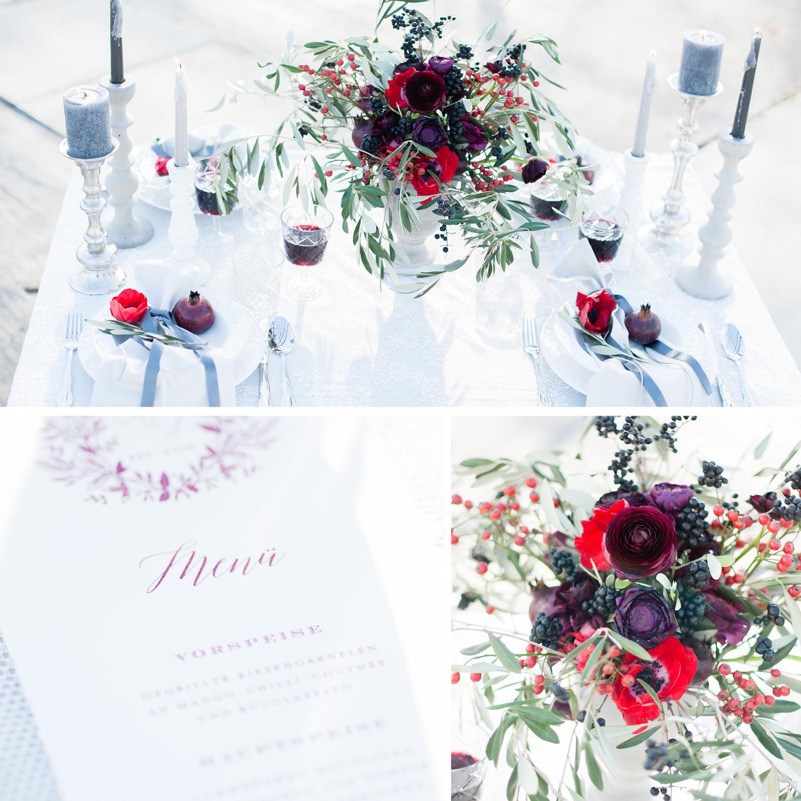 Büttenpapier Hochzeitseinladung