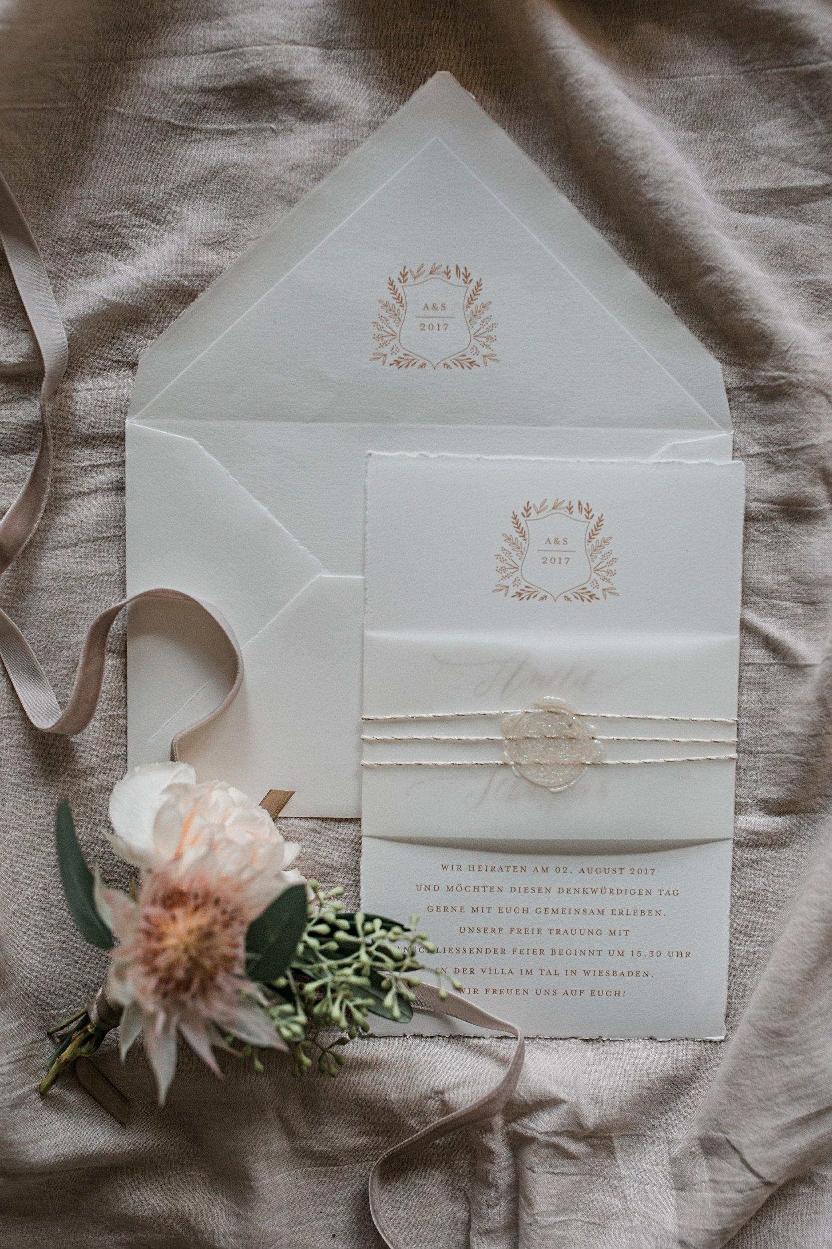 buettenpapier einladung