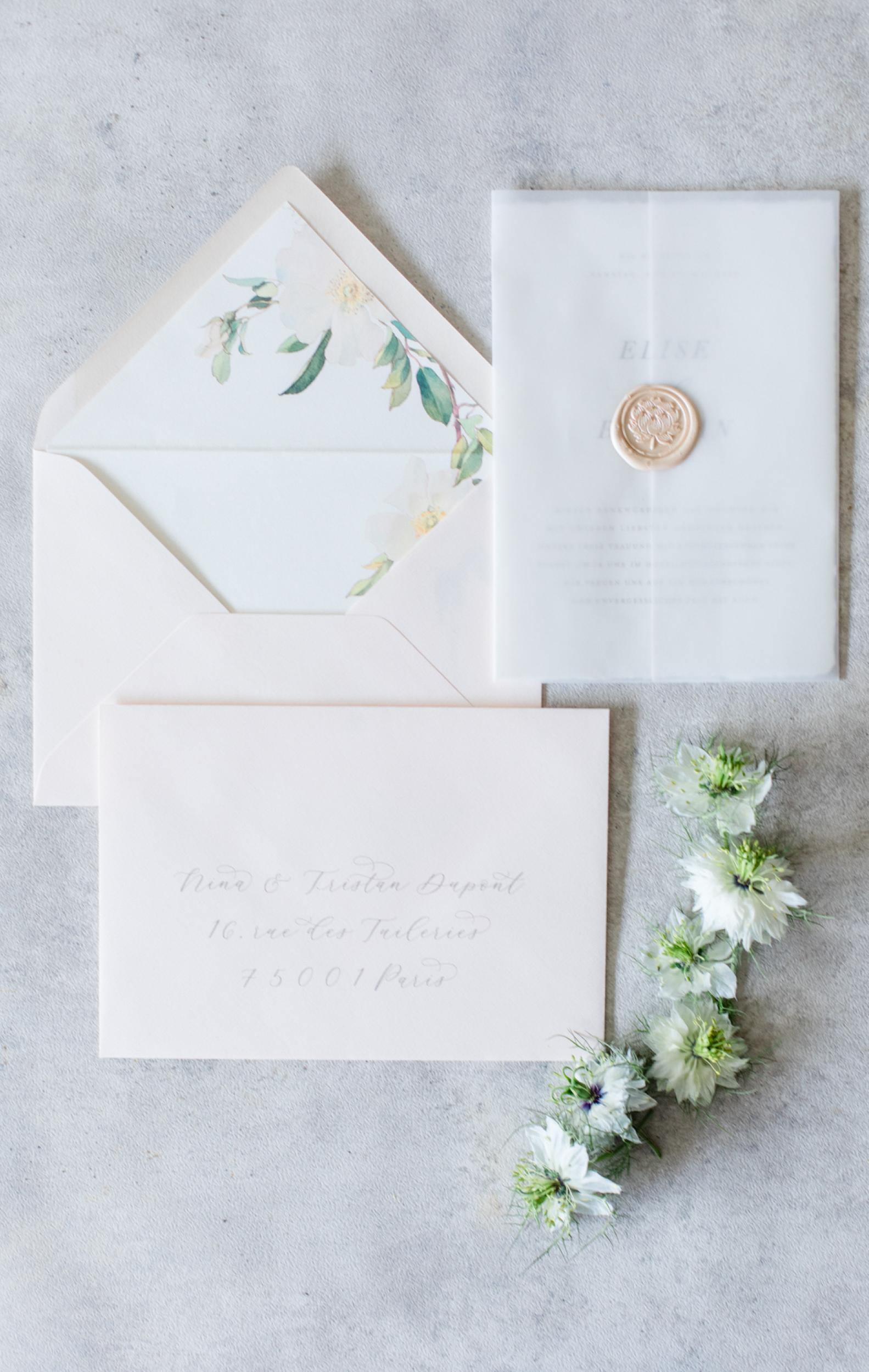 Hochzeitseinladung Hochzeitspapeterie
