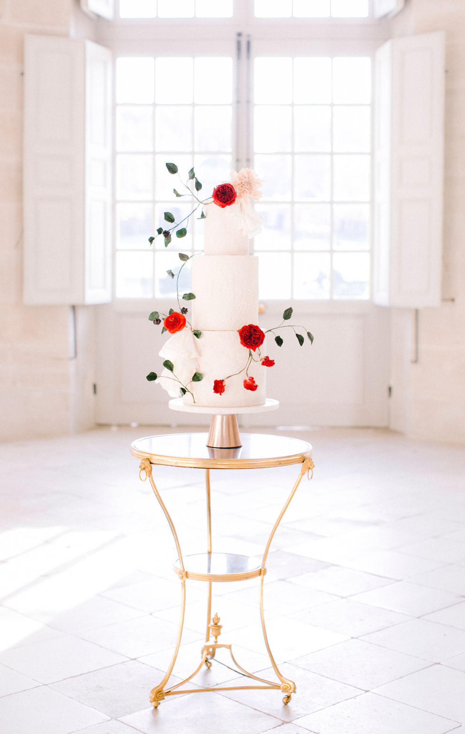 wedding cake chateau de villette france