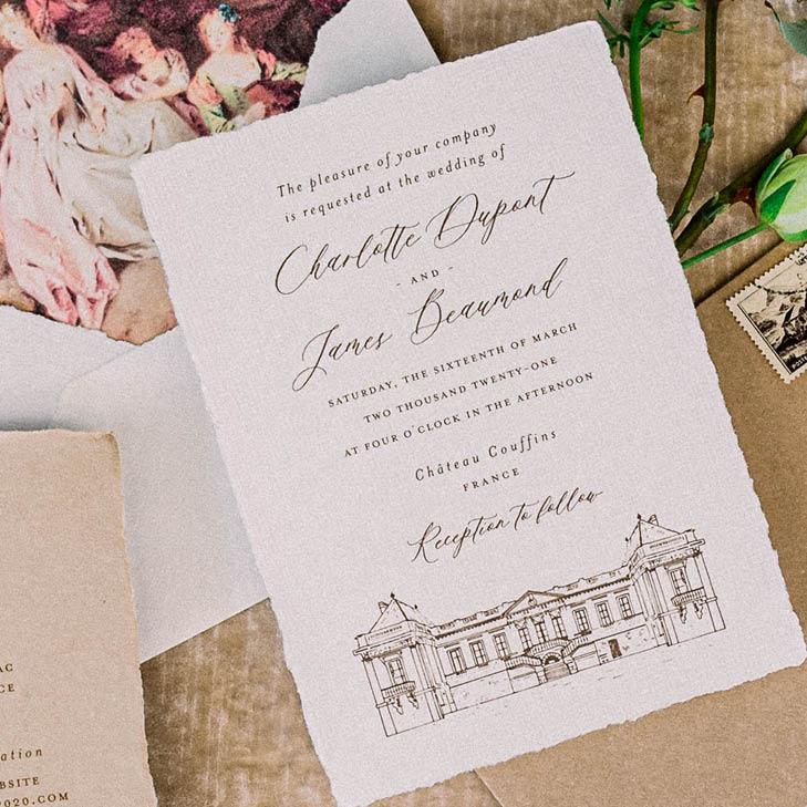 Hochzeitslocation skizze