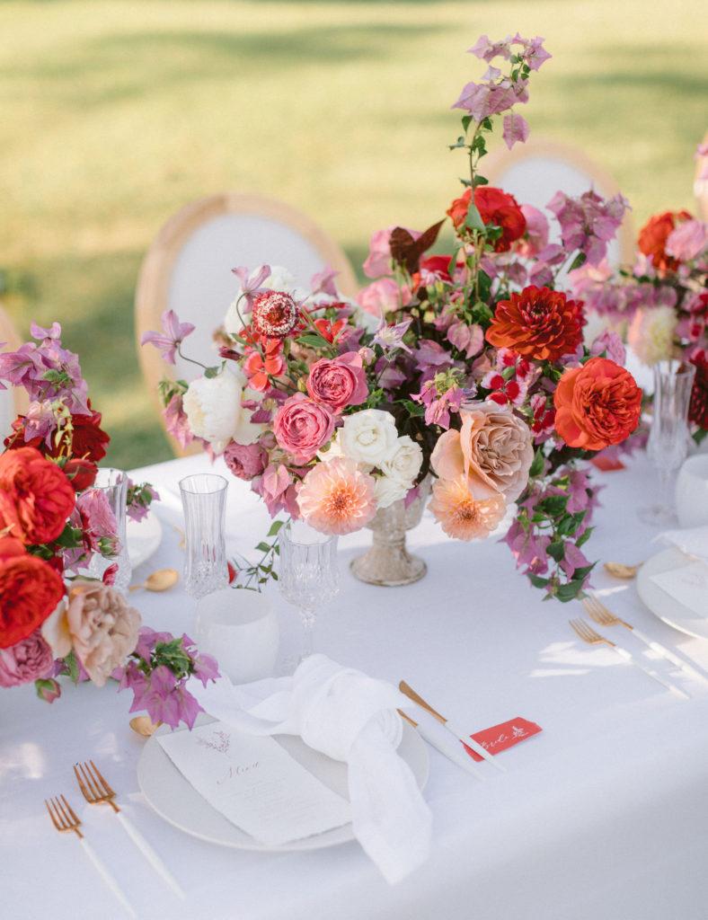 table de mariage provence