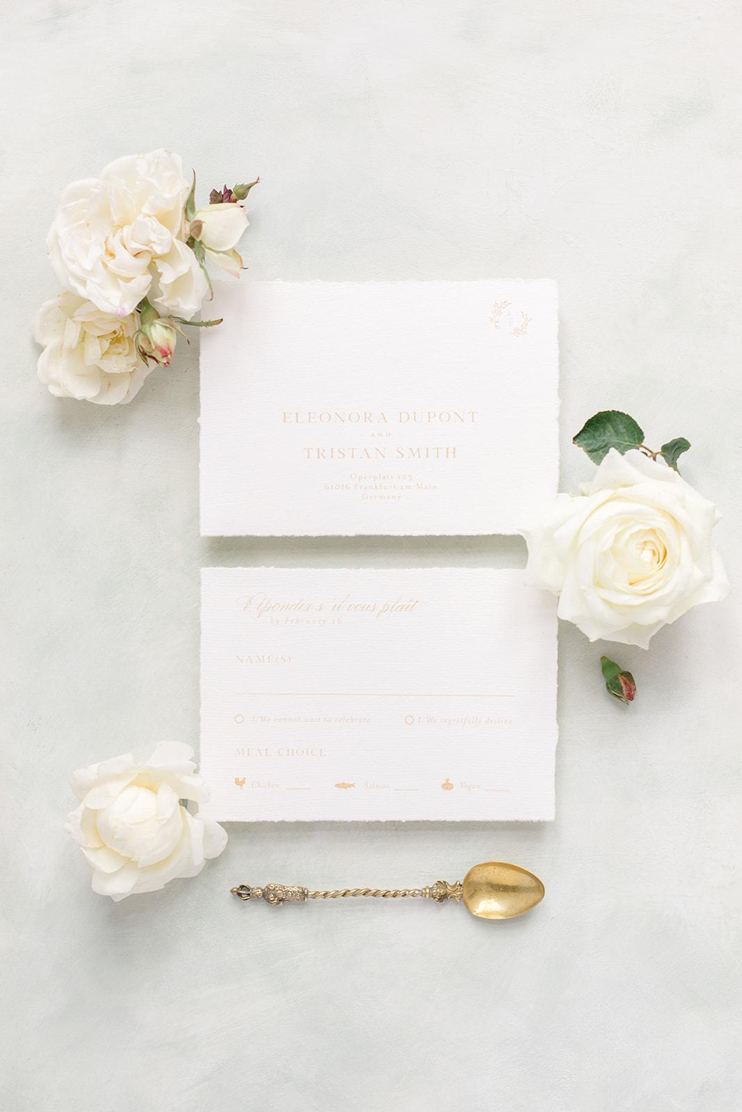 Hochzeitspapeterie wedding stationery Bonjour Paper