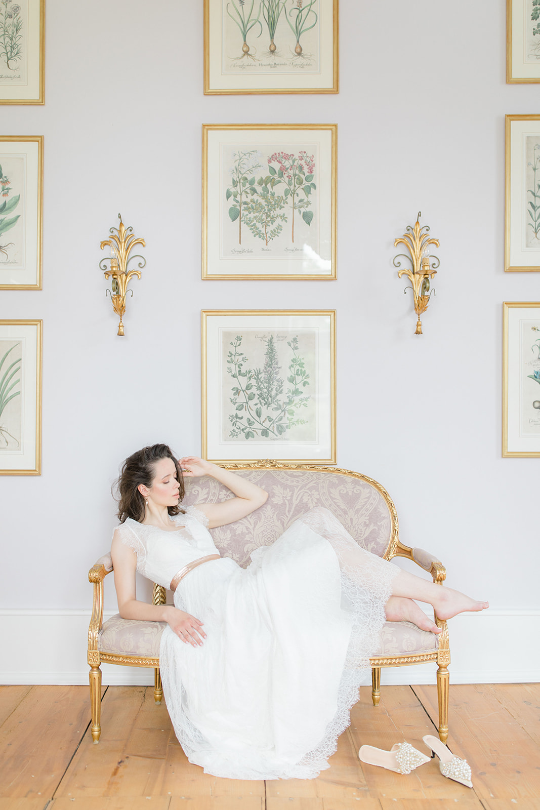 Wedding Inspiration in Castle Von Hammerstein in Germany