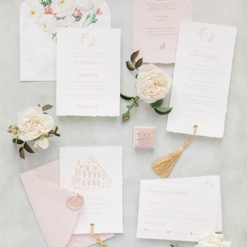 Bonjour Paper fine art Hochzeitspapeterie