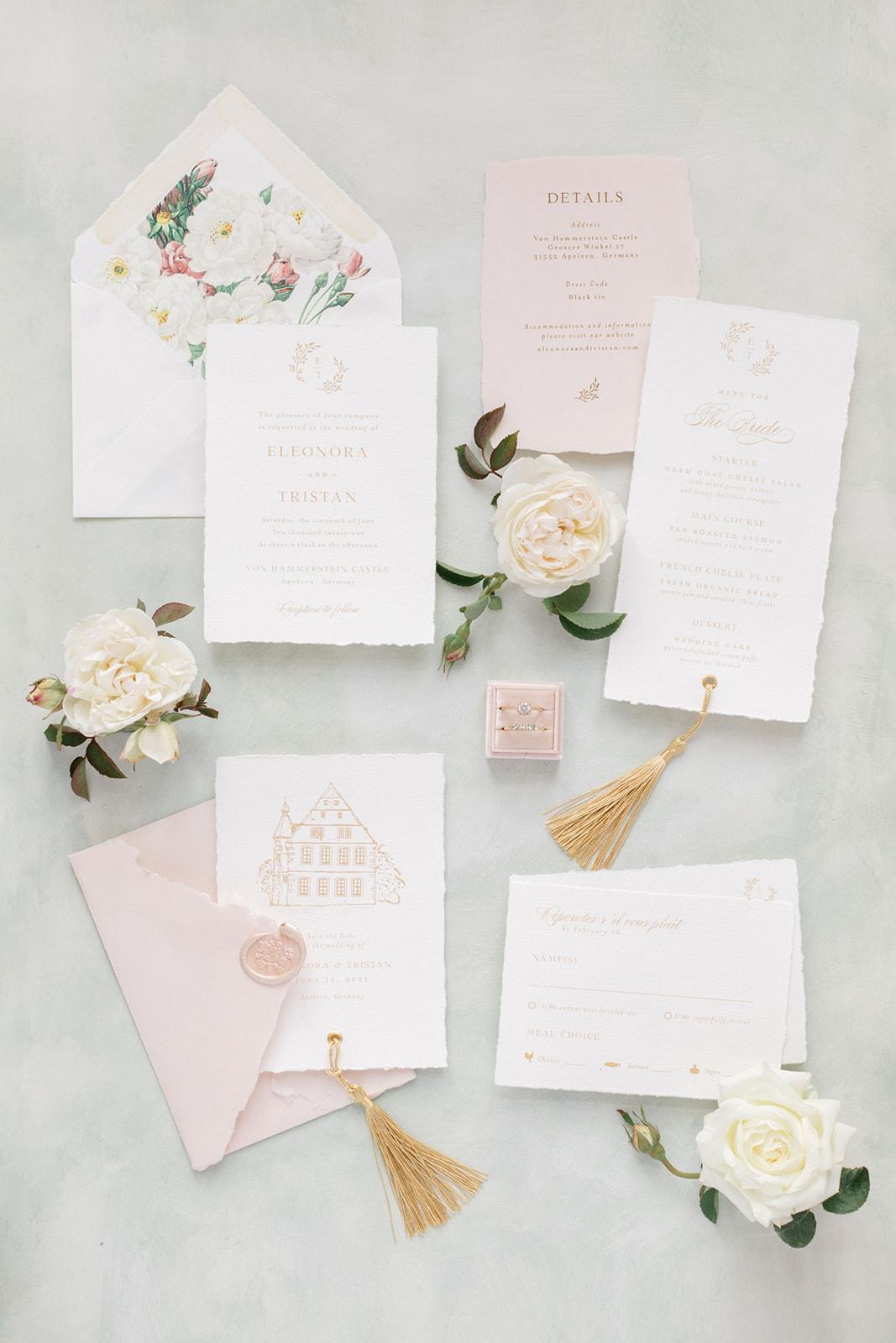 Bonjour Paper fine art Hochzeitspapeterie Wedding paper goods